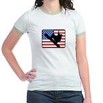 American Snowboarding Jr. Ringer T-Shirt