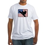 American Snowboarding Fitted T-Shirt