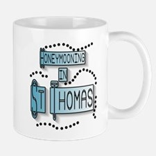 Blue Honeymoon St. Thomas Mug