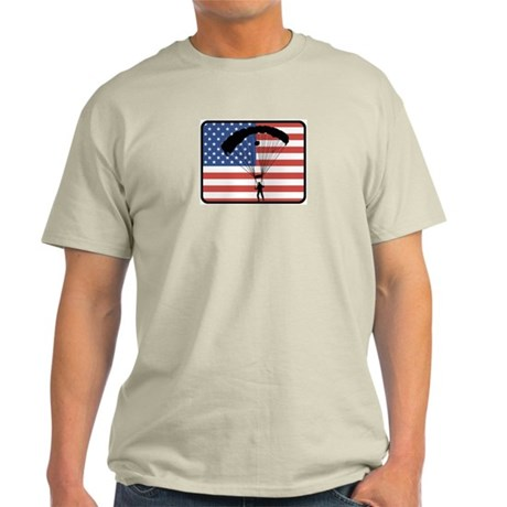 American Skydiving Light T-Shirt