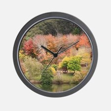 Unique Shrubs Wall Clock