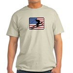 American Skiing2 Light T-Shirt