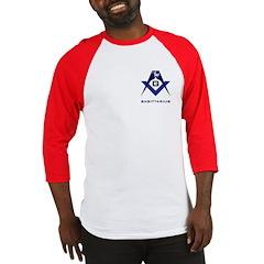 Masonic Sagittarius Sign Baseball Jersey