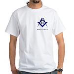 Masonic Sagittarius Sign White T-Shirt
