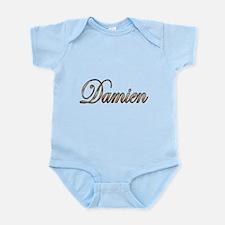 Gold Damien Body Suit