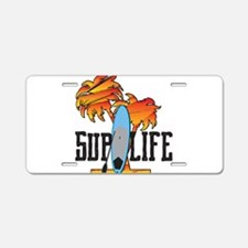 Cool Paddle board Aluminum License Plate