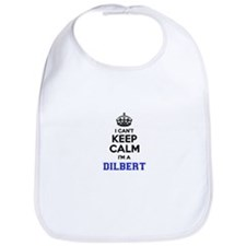 DILBERT I cant keeep calm Bib