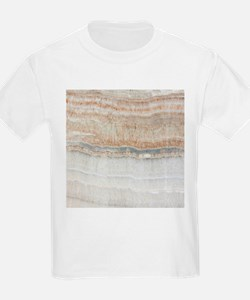 abstract chic white marble T-Shirt