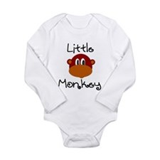 Little Monkey Infant Creeper Body Suit