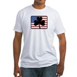 American Shamrock Fitted T-Shirt