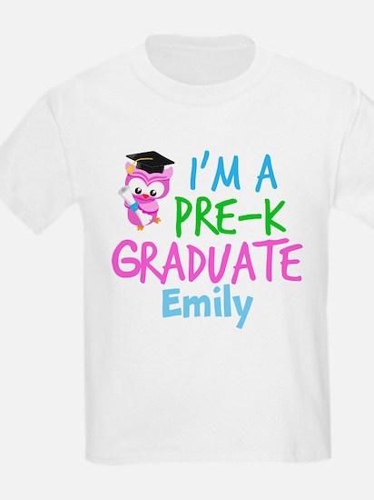 Pre-K Grad Girls T-Shirt
