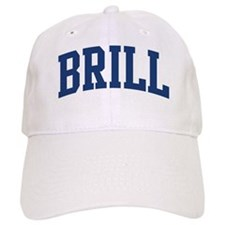 BRILL design (blue) Baseball Cap
