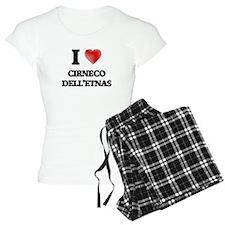I love Cirneco Dell'Etnas Pajamas