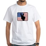 American Peace White T-Shirt