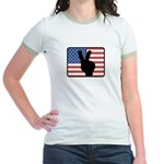 American Peace Jr. Ringer T-Shirt