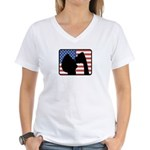 American Party Women's V-Neck T-Shirt