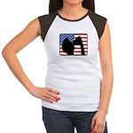 American Party Women's Cap Sleeve T-Shirt