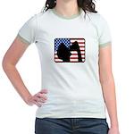 American Party Jr. Ringer T-Shirt