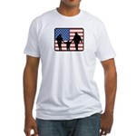 American Parenting Fitted T-Shirt