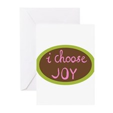 I Choose Joy - Women Greeting Cards