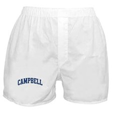 CAMPBELL design (blue) Boxer Shorts