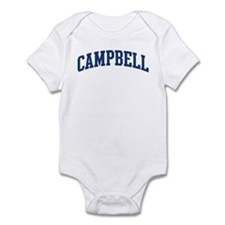 CAMPBELL design (blue) Infant Bodysuit