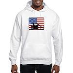 American Motocycle Riding Hooded Sweatshirt