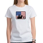 American Motocycle Riding Women's T-Shirt