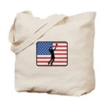 American Mens Volleyball Tote Bag