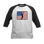 American Mens Volleyball Kids Baseball Jersey