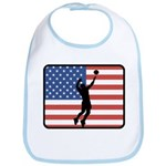 American Mens Volleyball Bib