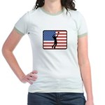 American Mens Volleyball Jr. Ringer T-Shirt