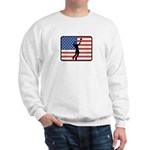 American Mens Volleyball Sweatshirt