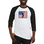 American Mens Volleyball Baseball Jersey