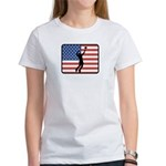 American Mens Volleyball Women's T-Shirt