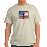 American Mens Volleyball Light T-Shirt