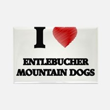 I love Entlebucher Mountain Dogs Magnets