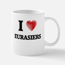 I love Eurasiers Mugs