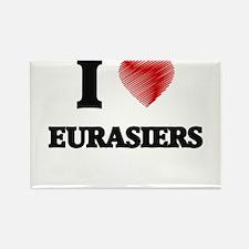 I love Eurasiers Magnets