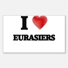 I love Eurasiers Decal