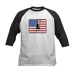 American Lacrosse Kids Baseball Jersey