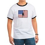 American Lacrosse Ringer T