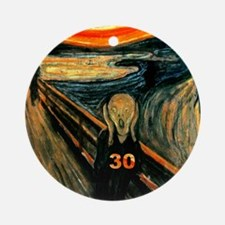 Scream 30th Ornament (Round)