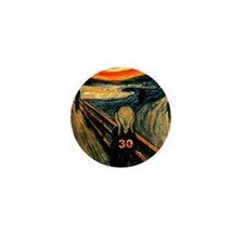 Scream 30th Mini Button