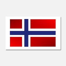 Simply Norwegian Car Magnet 20 x 12