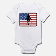 American Jump Rope Infant Bodysuit