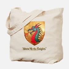 Dragon Shield Tote Bag