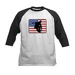 American Inline Skating Kids Baseball Jersey