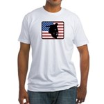 American Inline Skating Fitted T-Shirt