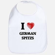 I love German Spitzs Bib